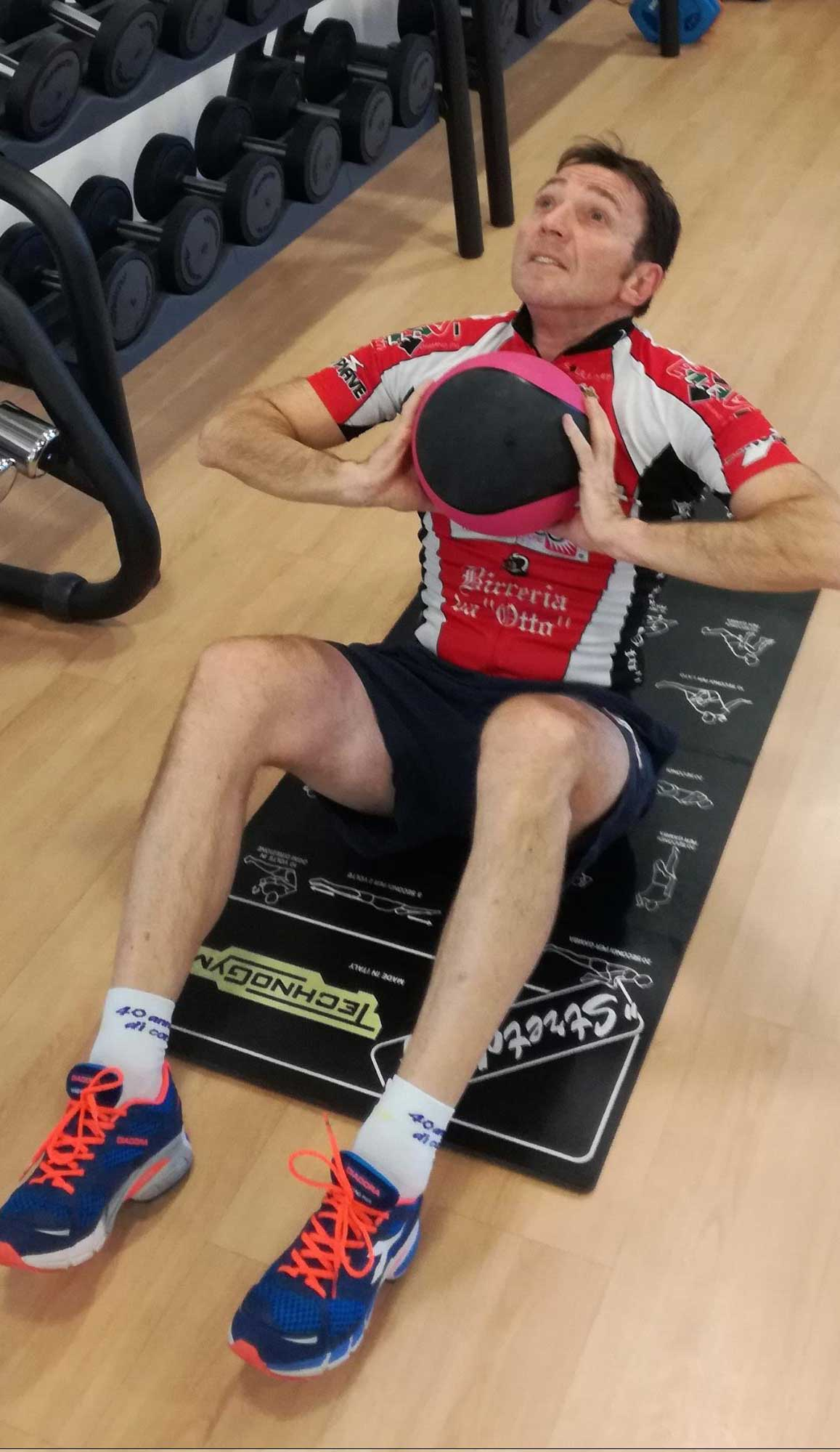 Functional Training - Mountain Bike - Sit Up