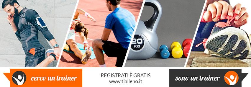 Tialleno.it Crea il tuo Profilo Professionale Fitness