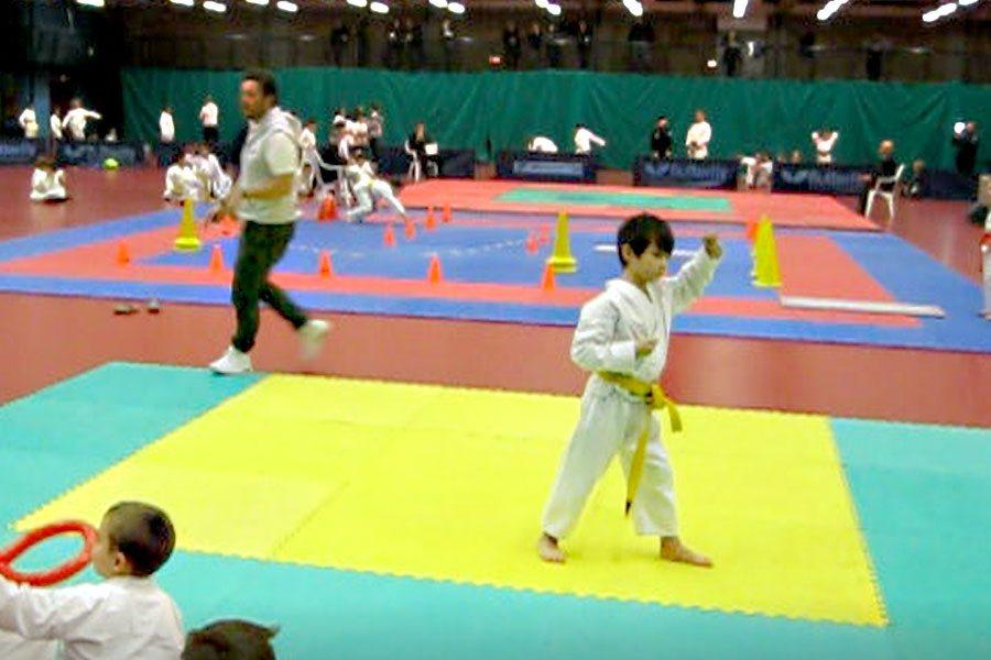 Benefici del karate per i bambini